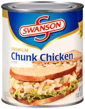 Swanson® Chunk Chicken Canned Chicken