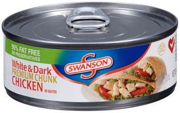 Swanson® Premium Chunk White & Dark Chicken in Water