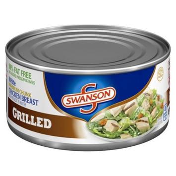 Swanson Grilled White Premium Chunk Chicken Breast