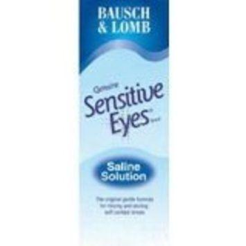 Bausch & Lomb Sensitive Eyes Saline Solution