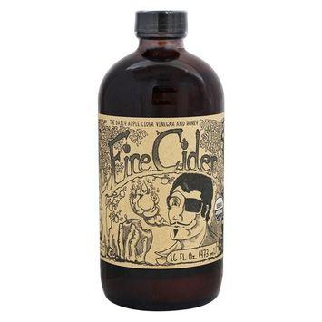 FIRE CIDER Apple Cider Vinegar and Honey Tonic | Original | 16 oz