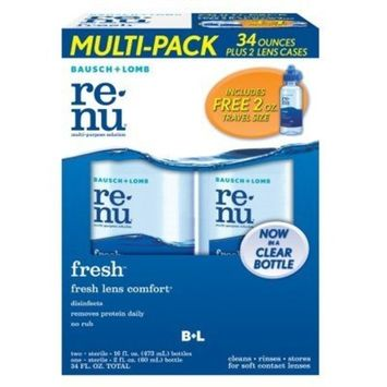Bausch & Lomb Multi-Purpose Contact Lens Solution Multi-Pack