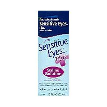 Bausch & Lomb Sensitive Eyes Saline Solution-12 oz, 3 pack