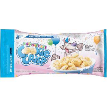 Cookie Crisp Birthday Cake Bagged Cereal, 35 oz Bag