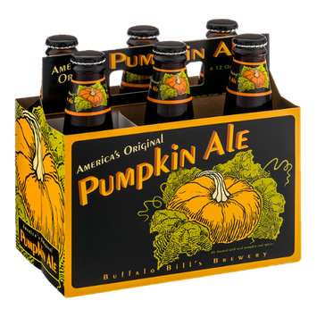 Buffalo Bill's Brewery Pumpkin Ale - 6 PK