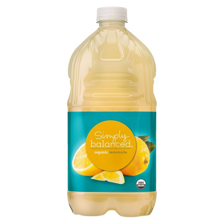 Simply Balanced Organic Lemonade 64 oz
