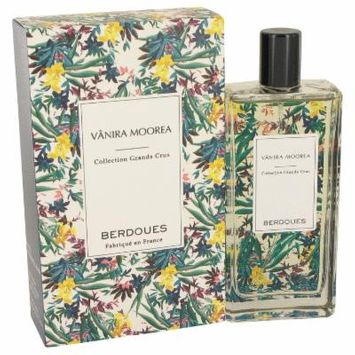 Vanira Moorea Grands Crus for Women by Berdoues Eau De Parfum Spray (Unisex) 3.4 oz