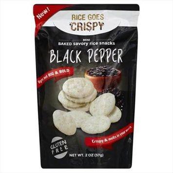 Kameda 2 oz. Rice Crispy Black Pepper Case Of 6