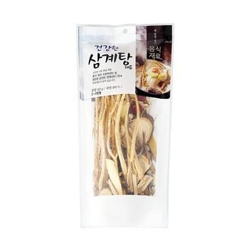 HaesongKNS Healthy Ginseng Chicken Soup material - contains 7 Soup Stock Ingredients of Healthy Soup Flavor for Traditional Korean Food, 110g
