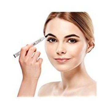 Eyebrow Pen, 2018 Professional Tattoo Eyebrow Pen with Four Tips Long-lasting Waterproof Brow Gel for Eyes Makeup (03#)
