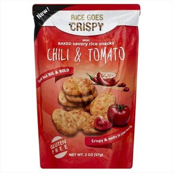 Kameda 2 oz. Rice Crispy Chilli And Tomato Case Of 6
