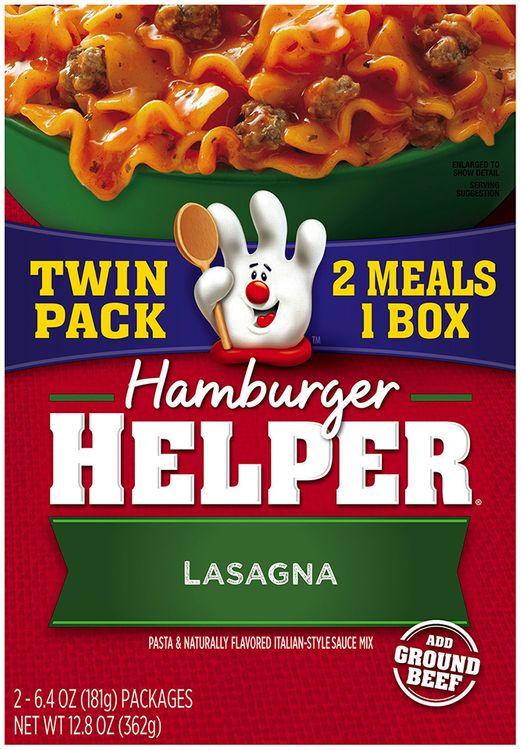 Betty Crocker® Lasagna Hamburger Helper®