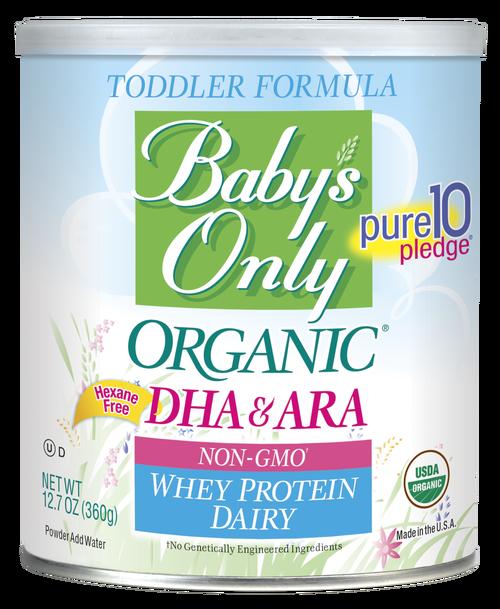 Baby's Only Organic® Dairy Whey DHA/ARA Formula