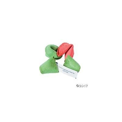 Christmas Fortune Cookies Pack of 6