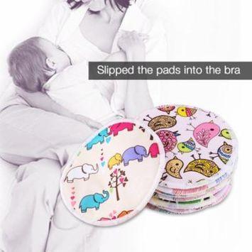 12pcs Soft Washable Bamboo Fiber Anti-spill Breastfeeding Pads Maternity Nursing Pad,Breastfeeding Pads, Nursing Pads