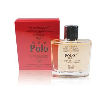 SECRET COLLECTION, Our Version of POLO RED,3.4 fl.oz. Eau De Toilette Spray for Men, Perfect Gift