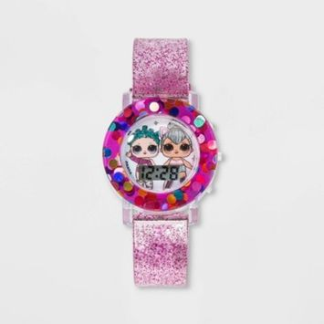 Girls' L.O.L. Surprise! Flashing LCD Watch - Gradient