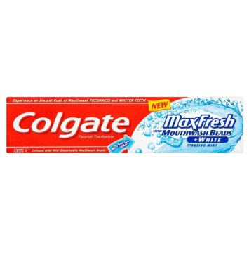 Colgate® MaxFresh® with MOUTHWASH BEADS TINGLING MINT Toothpaste