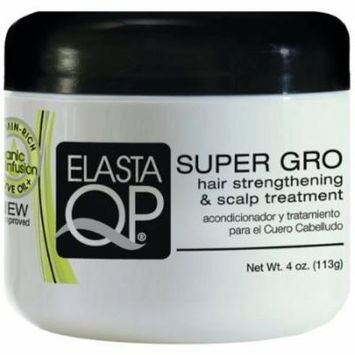 Elasta QP Super Gro Hair & Scalp 6 oz. (Pack of 6)