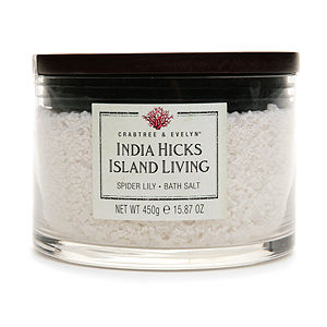 Crabtree & Evelyn India Hicks Island Living Spider Lily Bath Salt