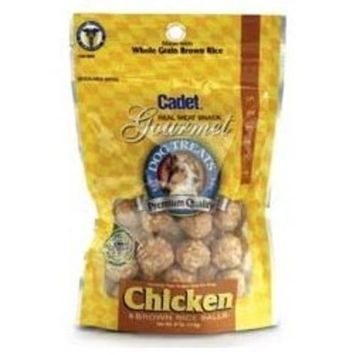 Ims Pet Industries Brown Rice Balls Dog Treat, Small Chicken