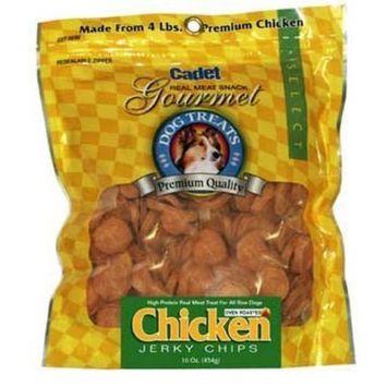 Ims Pet Industries Jerky Chips Dog Treat Quantity: 16-oz, Flavor: Chicken