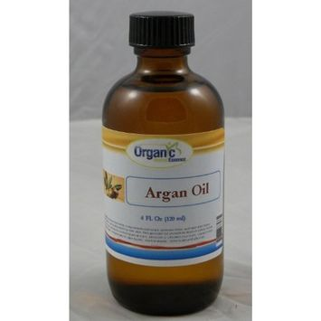 Organic Argan Oil - 100% Pure 120 ml (4 Oz)