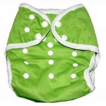 One Size Fit All- Diaper Covers for Prefolds or Regular Inserts PUL - GREEN