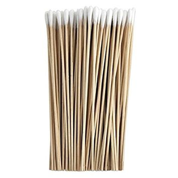 Cotton-Tipped Applicators 6 Inches, Wood - 1000EA/BX Bulk