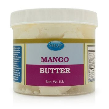 Raw Mango Butter - 1 Lb By SAAQIN ®