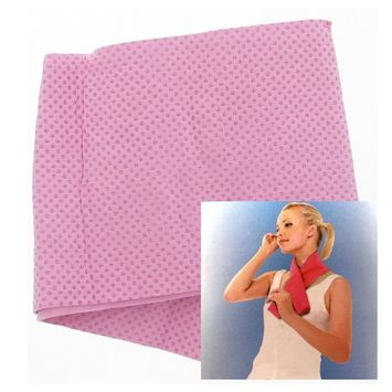 Imperial Home Eco-Friendly Reusable Instant Relief Cooling Towel - Pink