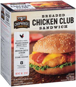 Steak-Eze® Chophouse Favorites™ Breaded Chicken Club Sandwich