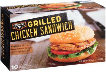 Steak-Eze® Grilled Chicken Sandwich 1 Box