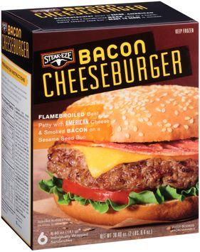 Steak-Eze® Bacon Cheeseburger