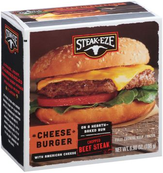 Steak-Eze® Cheese Burger with American Cheese