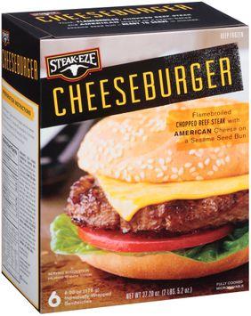Steak-Eze® Cheeseburger