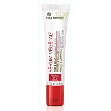 Yves Rocher Serum Vegetal 3 Wrinkles & Radiance Eye Care Roll On .5 oz