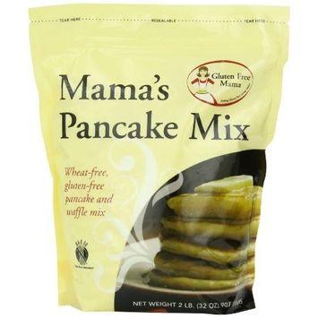 Gluten Free Mama, Mama's Pancake Mix and Waffle Mix, 32-Ounce Pouches (Pack of 5)