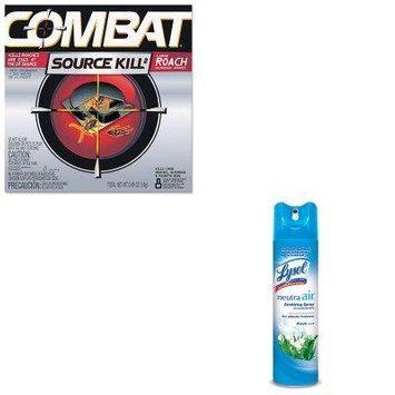 KITDPR41913RAC76938EA - Value Kit - Combat Source Kill Large Roach Killing System (DPR41913) and Neutra Air Fresh Scent (RAC76938EA)