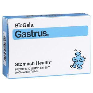 BioGaia Gastrus, Chewable Tablets, Mandarin Orange, 30 ea
