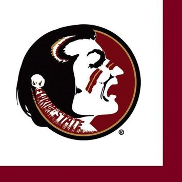 36 Pack Florida State University Luncheon Paper Napkins