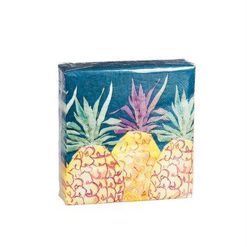 Cocktail Napkin,Multi Pineapple