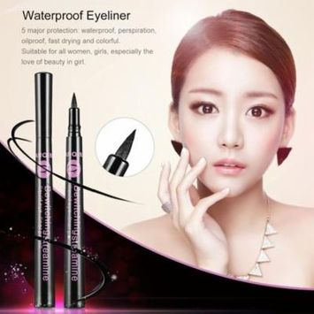 Black Quick-Drying Waterproof Liquid Eyeliner Pencil Makeup Cosmetics Women Girls