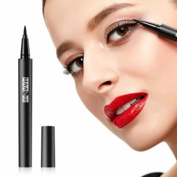 black MAG5004 Portable Size Women Eyeliner Pencil Pen Long Lasting Liquid Eyeliner