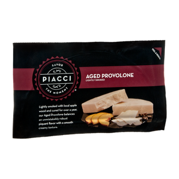 Piacci Lightly Smoked Aged Provolone