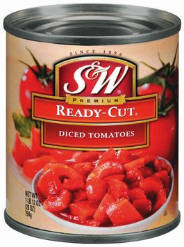 S&W® Ready-Cut Diced Tomatoes