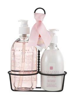 Provence Sante PS Kitchen Caddy - Liquid Soap & Lotion W Rose