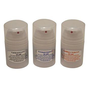 Drei Pack 50ml Gel für Laser und IPL Permaent Haarentfernung Maschinen, Systeme, Geräte