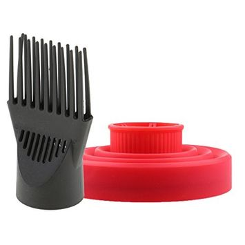 MagiDeal Hairdressing Salon Hair Dryer Diffuser Wind Blow Cover Comb Curl Hair Blower