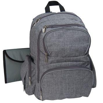 NeatPack Baby Diaper Backpack, Grey